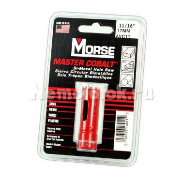 Сверло корончатое Morse д. 17 мм (11/16) B/M