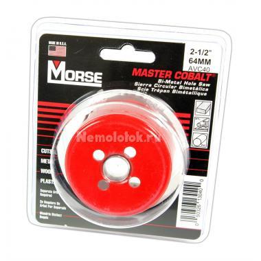 Сверло корончатое Morse д. 64 мм (2-1/2) B/M
