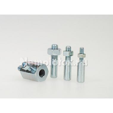 Комплект адаптеров держателя для дрели D 43 мм (ударопрочный пластик) (10372)