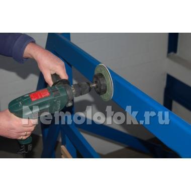 Насадки шлифовальные на дрель D125 мм и D75 мм Flexo-Plan FP (10318)(к-т)