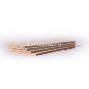 Фанерная заготовка для поделок 4 мм (4 шт) (163300)