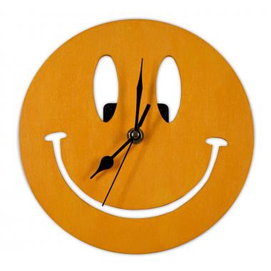 Шаблон Часы «Смайлик»