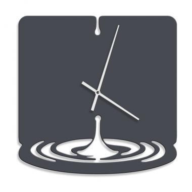 Шаблон Часы - капля