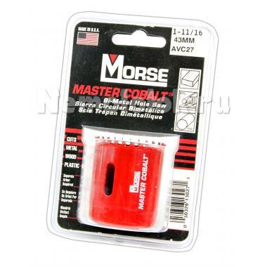 Сверло корончатое Morse д. 43 мм (1-11/16) B/M