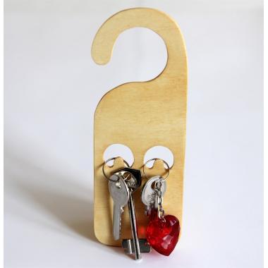 Шаблон Ключница на дверь