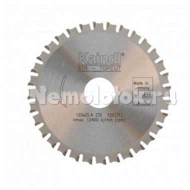 Диск пильный мультифункц. (D120 мм*25,4) д/УШМ 115 и 125 (16230)