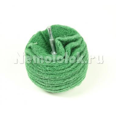 Шар абразивный D 75 (зерно 120) (зеленый)(18080)