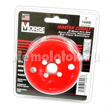 Сверло корончатое Morse д. 76 мм (3) B/M