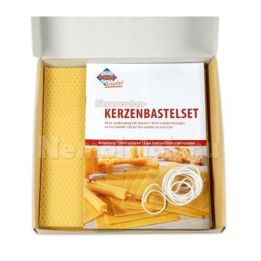 Набор для изготовления свечей из пчелиного воска (WACHS-SET1)