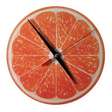 Шаблон Часы - Апельсин