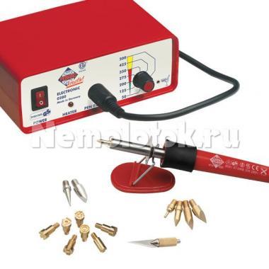 Выжигательный аппарат с насадками Pebaro (0280)