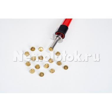 Набор штампов для выжигания 16шт. (буквы A-L) (20400)