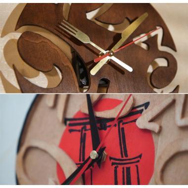 Шаблон Двойные часы