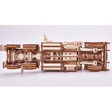 "Механический 3D-пазл из дерева Wood Trick Тягач ""Биг Риг"""