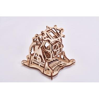 Механический 3D-пазл из дерева Wood Trick Колесо Фортуны с настольной игрой