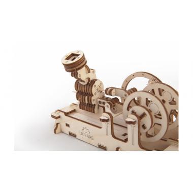 3D-пазл механический UGears - Пневматический двигатель