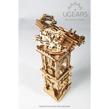 3D-пазл механический Ugears - Башня-аркбаллиста