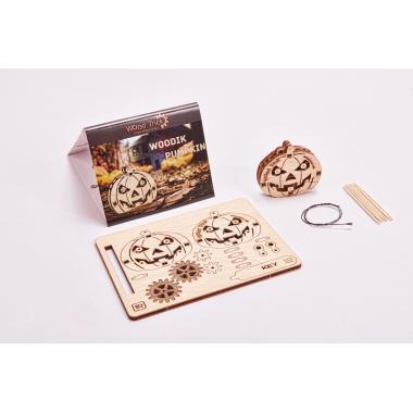 3D-пазл из дерева Wood Trick Вудик Тыква
