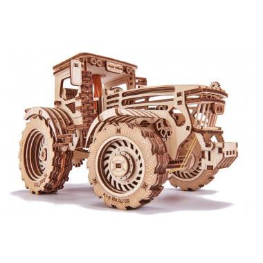 Механический 3D-пазл из дерева Wood Trick Трактор
