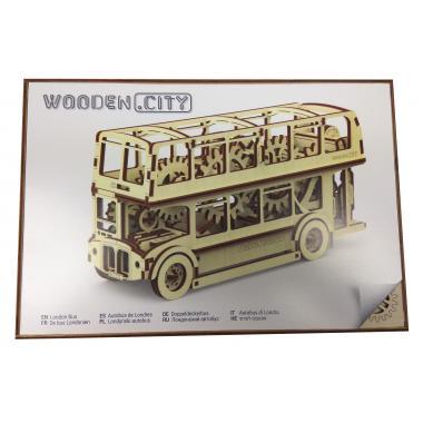 3D-пазл механический Wooden.City Лондонский автобус