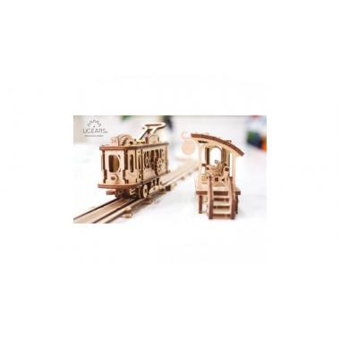 3D-пазл механический UGears - Трамвайная линия