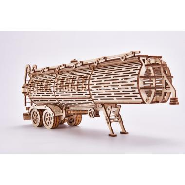 Механический 3D-пазл из дерева Wood Trick Прицеп Цистерна