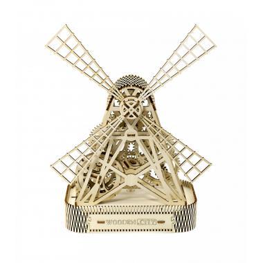 3D-пазл механический Wooden.City Ветряная мельница