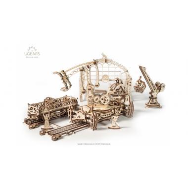 3D-пазл механический Ugears - Манипулятор на рельсах