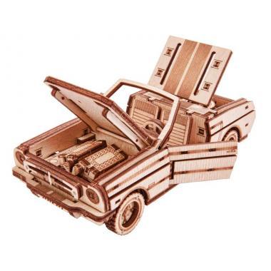 Механический 3D-пазл из дерева Wood Trick Кабриолет