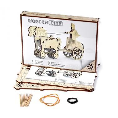 3D-пазл механический Wooden.City Римская колесница