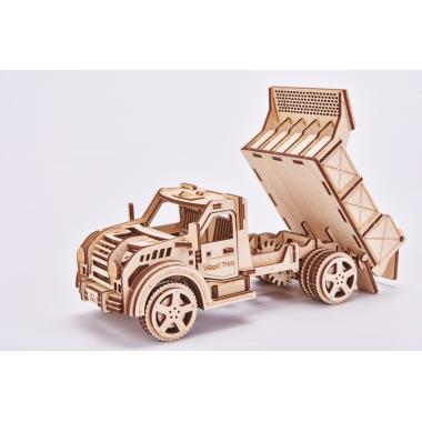 Механический 3D-пазл из дерева Wood Trick Грузовик-Самосвал