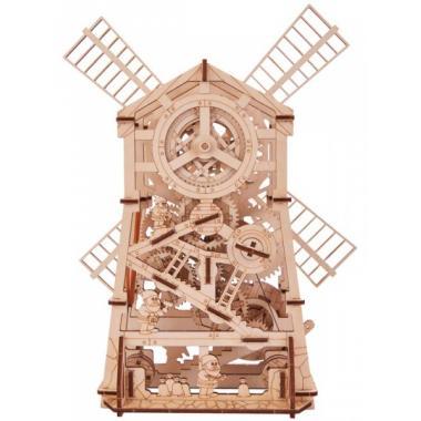 Механический 3D-пазл из дерева Wood Trick Механическая мельница