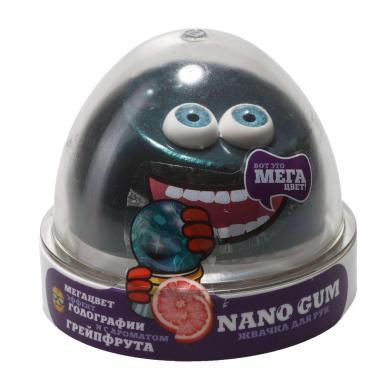 Жвачка для рук NanoGum, эффект голографии и аромат грейпфрута