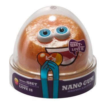 "Жвачка для рук NanoGum ""Лави"". С ароматом ""LOVE IS"" и меняет цвет"