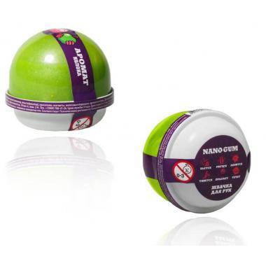 """Жвачка для рук NanoGum """"Зеленое Яблоко"""""""