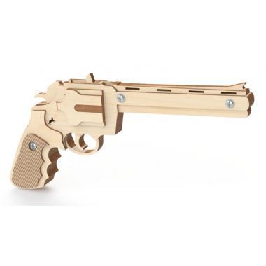 Конструктор-пистолет Древо Игр Резинкострел Револьвер