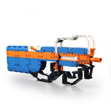 Конструктор Cada Technics, пистолет-пулемет P90, 581 деталь - C81003W