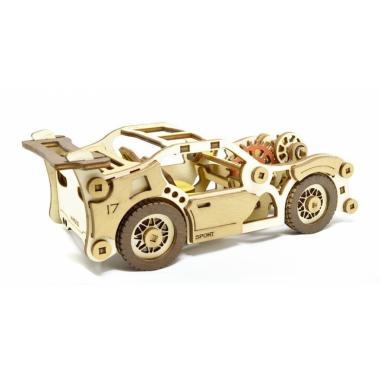 Конструктор 3D деревянный M-WOOD Спорткар Velox