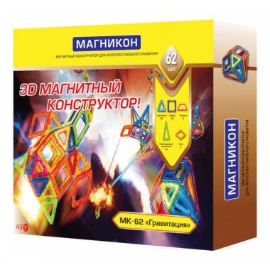 Магнитный конструктор МАГНИКОН MK-62