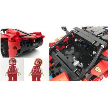 Конструктор Cada Technics, спорткар, 380 деталей, пульт управления - C51009W