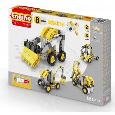 Конструктор Engino PICO BUILDS/INVENTOR Спецтехника - 8 моделей