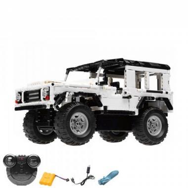 Конструктор Cada Technics, джип Land Rover, 533 детали, пульт управления - C51004W