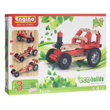 Конструктор Engino ECO BUILDS. Автомобили