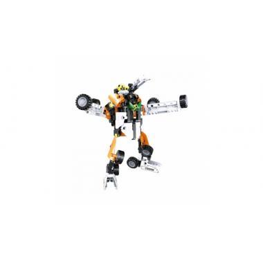 Конструктор Cada Technics танк и робот 2в1 c инерционным механизмом, 294 дет