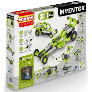 Конструктор с мотором Engino INVENTOR. Набор из 30 моделей