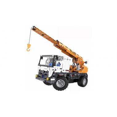 Радиоуправляемый конструктор с мотором Cada Technics Автокран со стрелой / Эвакуатор - 2.4G