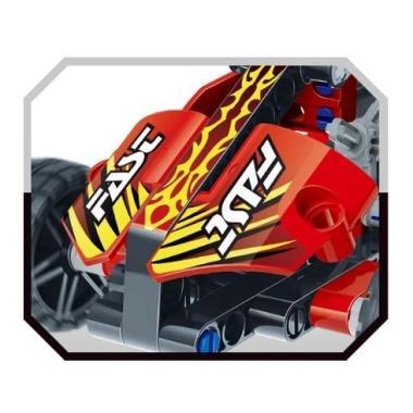 """3D-Конструктор SDL KID-CONSTRUCT """"Кроссовер красный, 127 дет."""""""