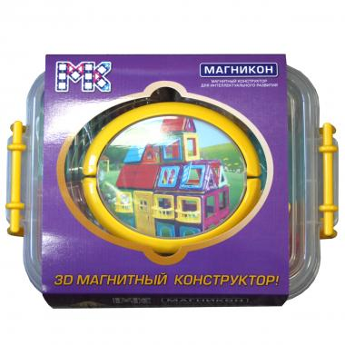 Магнитный конструктор МАГНИКОН МК-84 Дворец