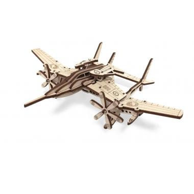 """Конструктор подвижный из дерева Lemmo самолет """"Сапсан"""""""