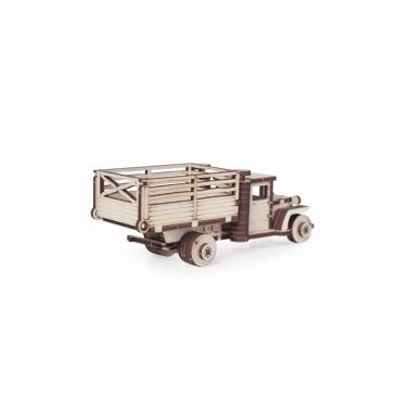 Конструктор 3D деревянный подвижный Lemmo Грузовик ЗИС 5ВБ с кузовом